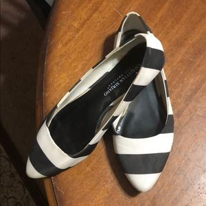 Christian Siriano Striped Halloween Flats